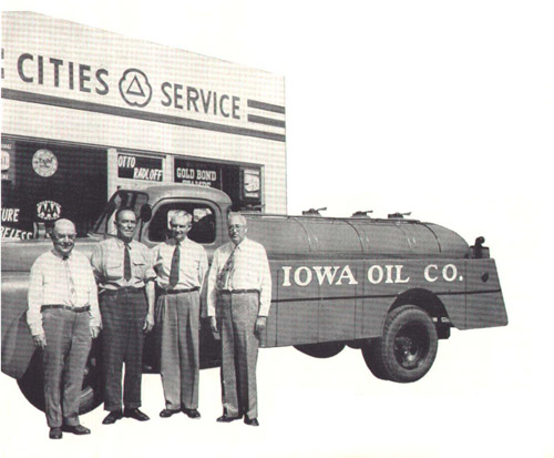 Iowa Oil Company Tank Truck